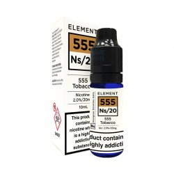 555 Tobacco e-liquid 10ml -...