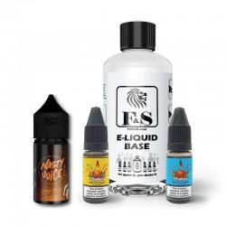 Devil Teeth by Nasty Juice and F&S Custom Base bundle - DIY e liquid kit 240ml