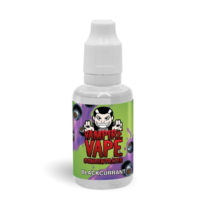 Blackcurrant flavour concentrate 30ml - Vampire Vape