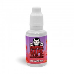Strawberry flavour concentrate 30ml - Vampire Vape