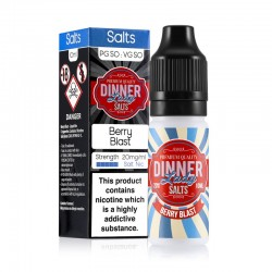 Berry Blast e-liquid 10ml - Dinner Lady Nic Salt