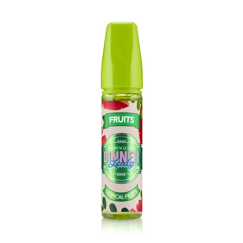 Tropical Fruits e-Liquid 50ml short fill - Dinner Lady