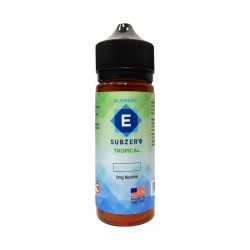 Tropical e-liquid 50ml short fill - Element Subzero