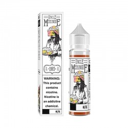 Uncle Meringue e-liquid 50ml short fill - Charlies Chalk Dust