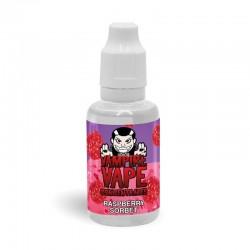 Raspberry Sorbet flavour concentrate 30ml - Vampire Vape