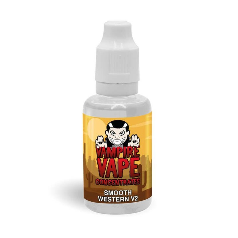 Smooth Western v2 Tobacco flavour concentrate 30ml - Vampire Vape