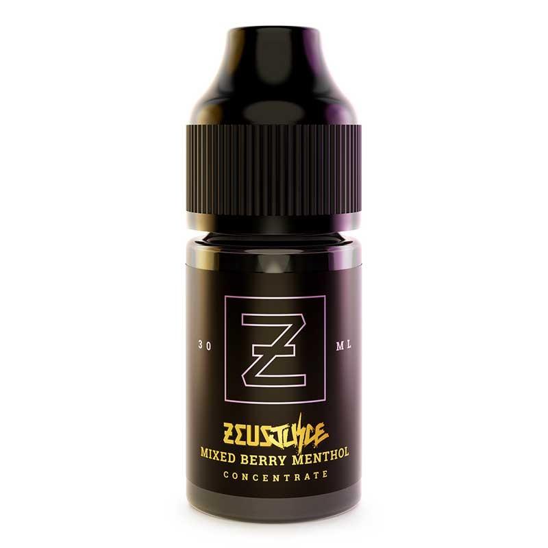 Mixed Berry Menthol flavour concentrate 30ml - Zeus Juice