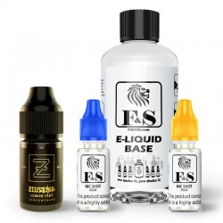 Lemon Tart by Zeus Juice and F&S Custom Base bundle - DIY e liquid kit 240ml