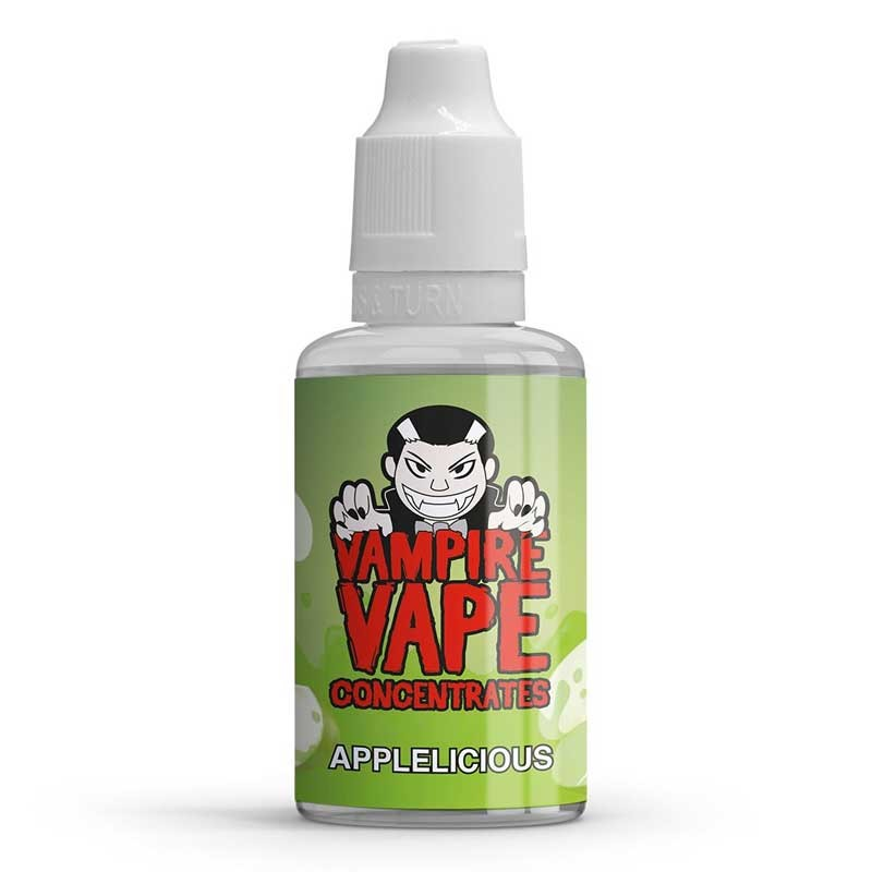 Applelicious flavour concentrate 30ml - Vampire Vape
