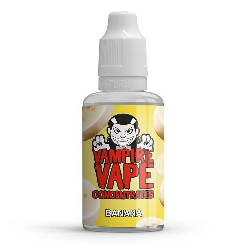 Banana flavour concentrate 30ml - Vampire Vape