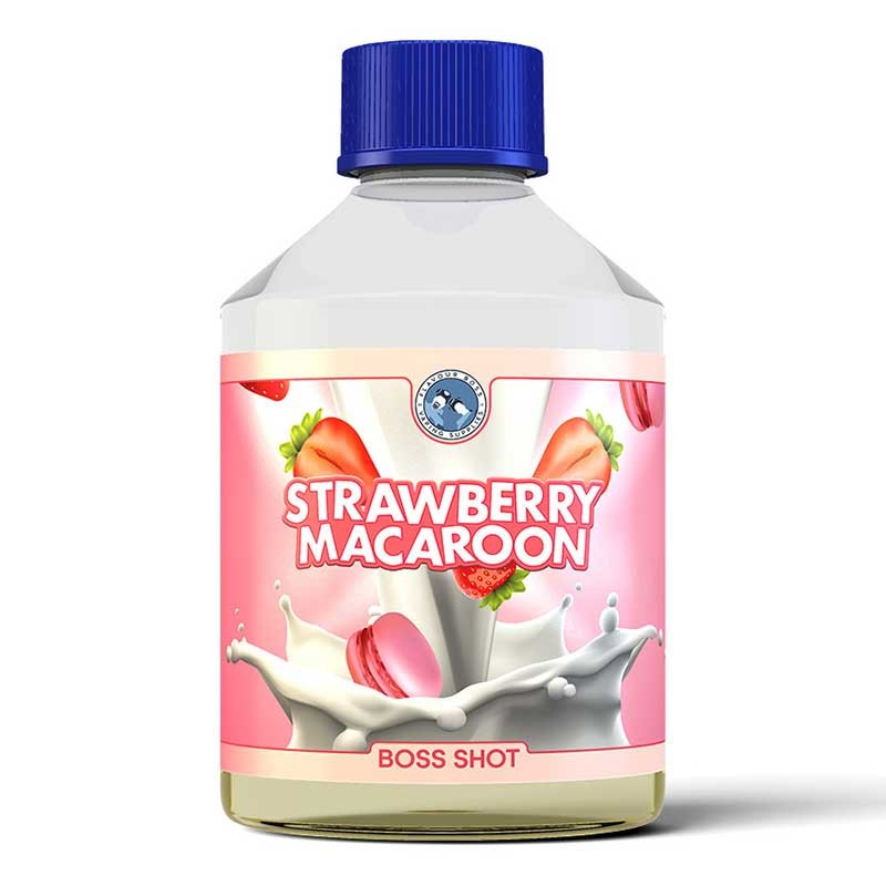 Strawberry Macaroon Boss Shot flavour concentrate - Flavour Boss
