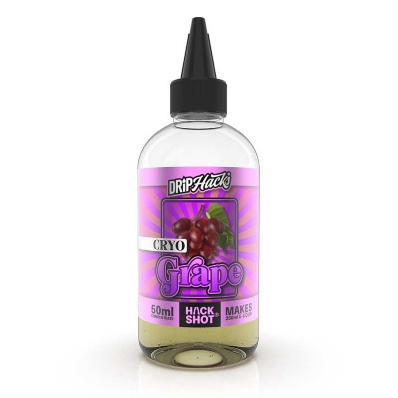 Cryo Grape Hackshot flavour concentrate - Drip Hacks